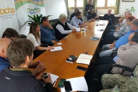 OGD Rocha trabaja en temáticas de seguridad, junto al Ministerio del Interior, para la próxima temporada de verano