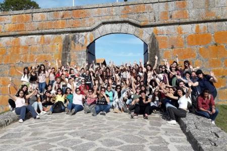 Turismo social: quinceañeras y estudiantes de Uruguay visitaron Rocha