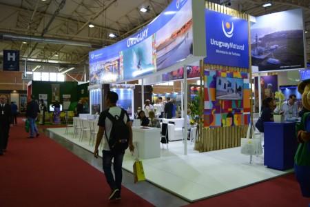 Rocha realizó acciones promocionales, de cara al verano, en la Feria Internacional de Turismo de Gramado, Brasil