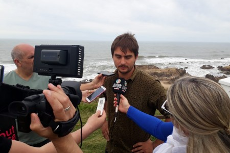 Periodistas argentinos visitaron Rocha en viaje de prensa de la aerolínea Amaszonas