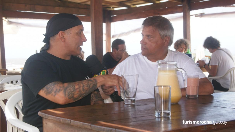 Gustavo Nunez de restaurante Proa en Barra de Valizas