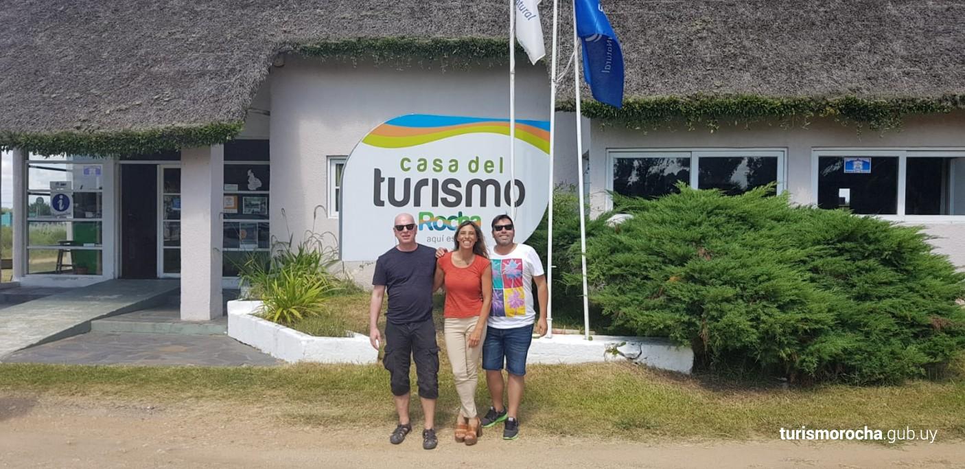 Marc Vorsatz en la Casa del Turismo de Rocha, Uruguay