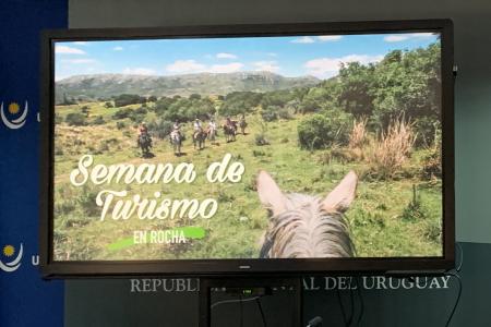 La OGD Rocha presentó propuestas para Semana de Turismo en medios de prensa nacionales