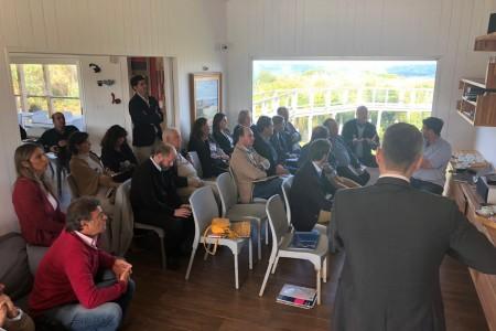 Encuentro OGD Rocha con Embajada de Alemania y Cámara de Comercio e Industria Uruguayo-Alemana