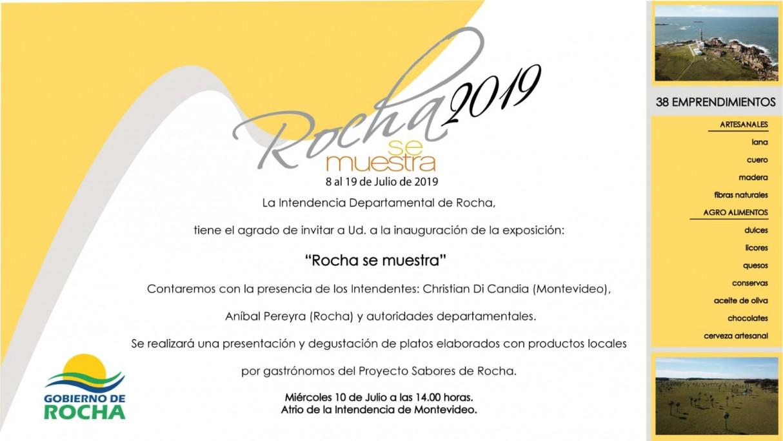Rocha se muestra 2019
