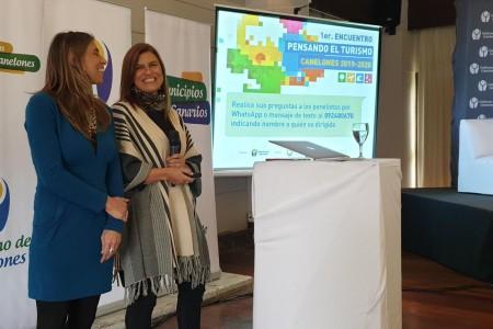 """La OGD Rocha presentó su modelo de gestión turística en el """"1er Encuentro: Pensando el Turismo"""" en Canelones"""