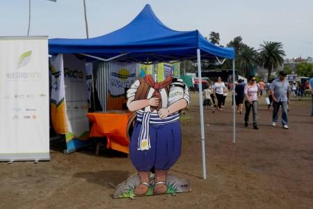 Rocha participó en el 31° Festival del asado con cuero en Lascano