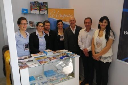 En feria Expointer en Esteio, la OGD Rocha presentó su ruta de sabores y oferta turística al público brasileño