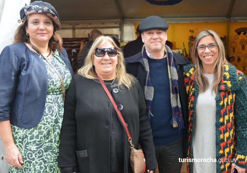Rocha en Expo Prado 2019