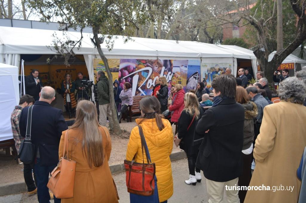 Stand de Rocha en Expo Prado 2019