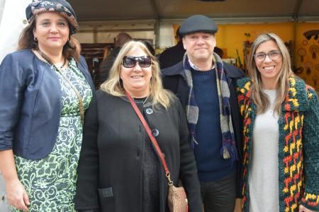 Alejandra Manso, Mary Urse, Carlos González y Ana Claudia Caram