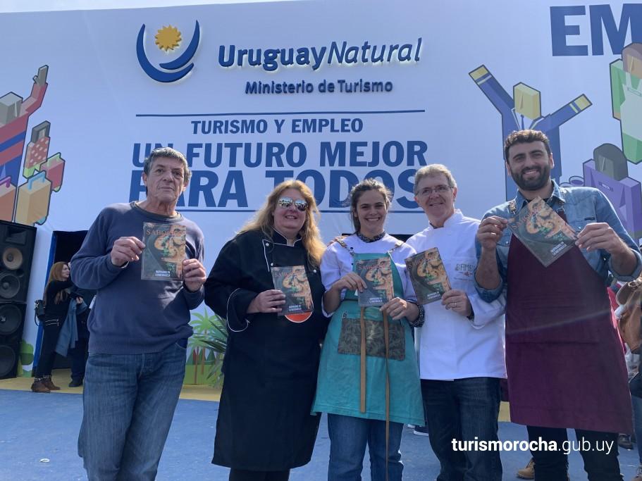 Presentación de Sabores de Rocha en Expo Prado 2019