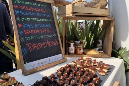 La Expo Prado recibió los Sabores de Rocha con una degustación de productos de la tierra, lagunas y océano