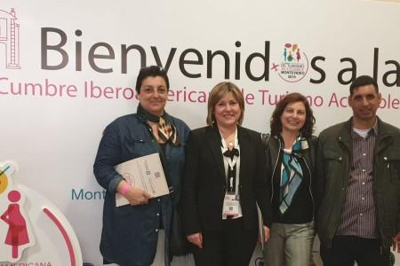 """""""Turismo accesible como mercado y oportunidad para los emprendedores"""". Rocha en la III Cumbre Iberoamericana de Turismo Accesible"""