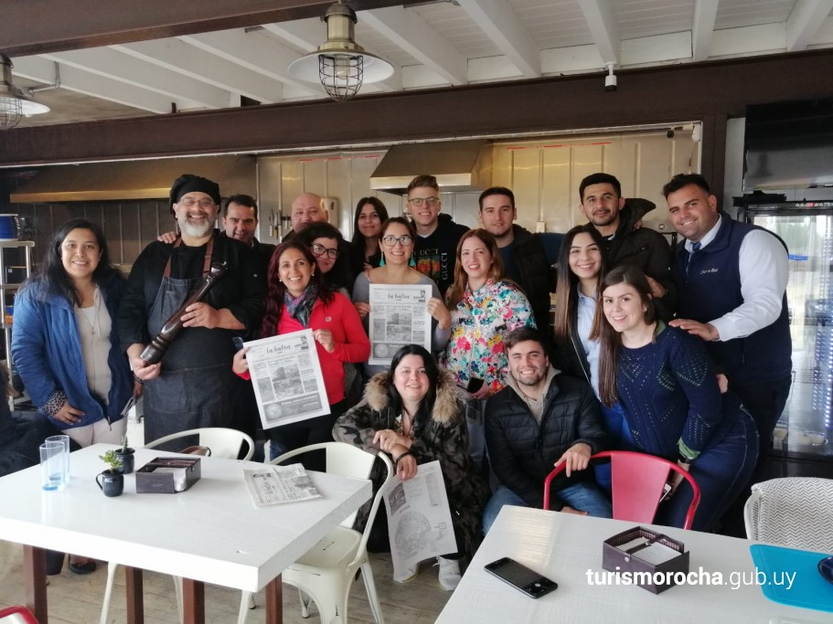 Fam press de Amaszonas en Rocha