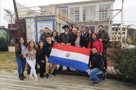 Fortaleciendo nuevos mercados: la OGD Rocha recibió medios de prensa de Paraguay de fam press de Amaszonas
