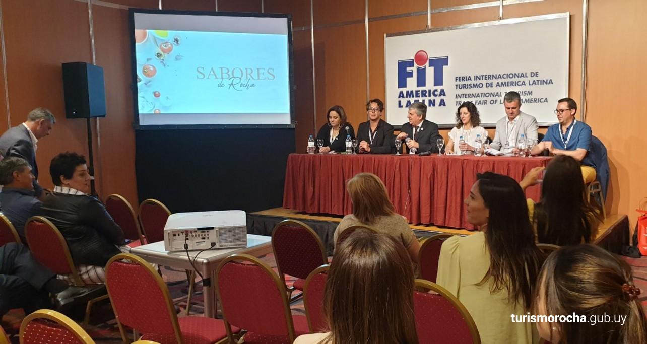 Rocha en Feria Internacional de Turismo FIT en Argentina