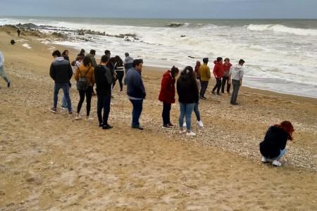 Turismo Social: recibimos en Rocha alumnos de Carmelo y Soriano en su viaje de fin de curso