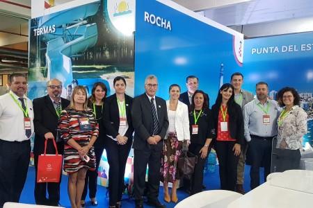 OGD Rocha promocionó los atractivos del destino y sus sabores en Feria de Turismo de Paraguay