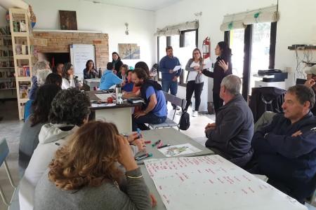 Desarrollo turístico en el Área Protegida Laguna Garzón