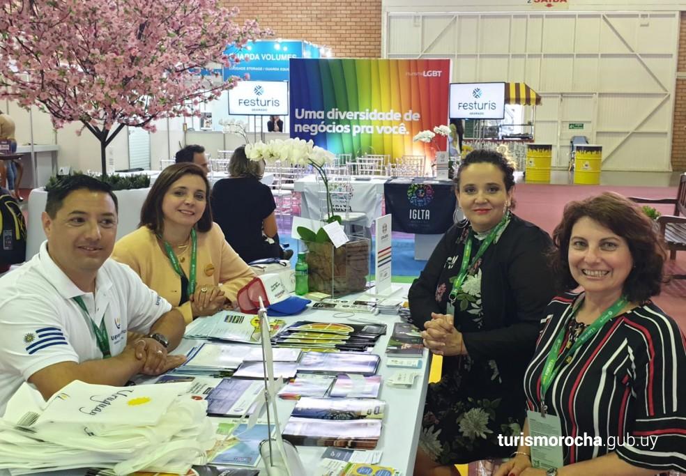 Coordinación con el Presidente de la Cámara de Comercio y Negocios LGBT de Uruguay, Adrián Russo del próximo Seminario Internacional sobre Turismo LGBT en Rocha