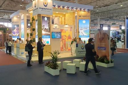 Rocha realizó acciones promocionales e institucionales en la Feria de Turismo en Gramado, Brasil