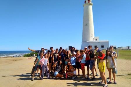 Turismo Social: niños del Centro 4 Vientos de Montevideo visitaron Rocha en su viaje de fin de año