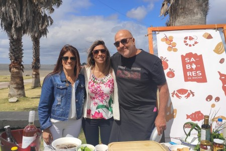Promoción del verano 2020 de Rocha y su gastronomía en la Rambla de Montevideo