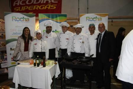 Equipo rochense en Cocinarte Uruguay 2012