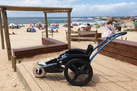 Accesibilidad en Punta del Diablo, se podrá utilizar una silla anfibia en la playa De Los Pescadores
