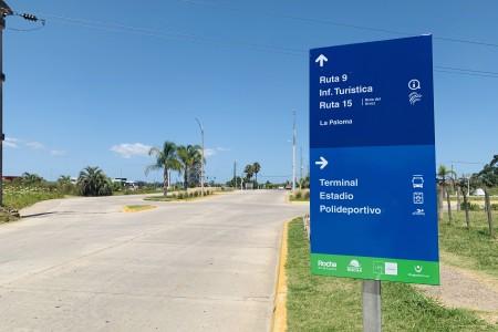 Nueva cartelería turística para la capital departamental de Rocha
