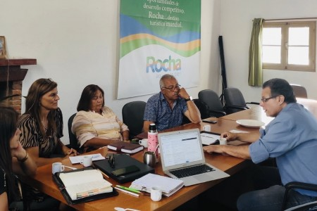 Directivos de la CRT se reunieron con candidato a la Intendencia de Rocha, Sr. Anibal Pereyra