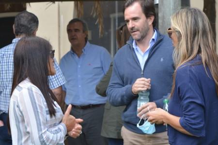 COVID-19: la CRT destacó el cierre de socios por Semana Santa en reunión con ministros y autoridades de Rocha