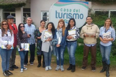 Recibimos delegación de periodistas de Perú
