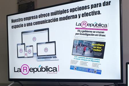 El Multimedio La República puso a disposición sus espacios para la promoción del turismo en Uruguay