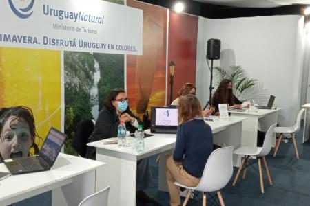 Rocha participó en la ronda de negocios con agencias de viajes en la Expo Prado 2020