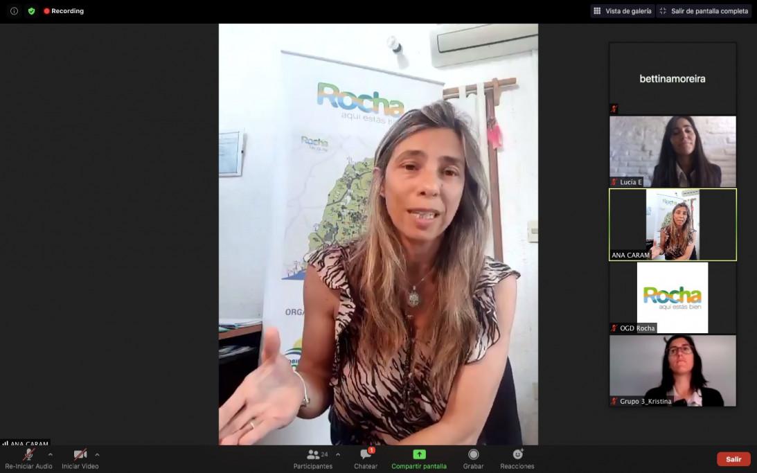 Encuentro virutal OGD Rocha y OMT