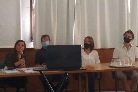 Presentación del proyecto Rocha Filma en La Paloma