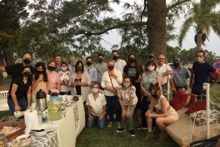 Recorrido por la Ruta del Arroz e intercambio entre actores turísticos de Rocha y Treinta y Tres