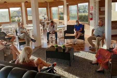 El Director de Turismo de Rocha se reunió con la nueva directiva del Centro de Hoteles de La Paloma
