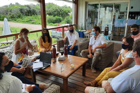 Directivos de la CRT se reunieron con el Director de Medio Ambiente de Rocha