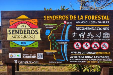 Presentación del Proyecto Senderos Autoguiados de Aguas Dulces, Barra de Valizas y Cabo Polonio