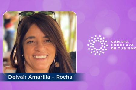 Delvair Amarilla, Presidente de la CRT, destacada por CAMTUR como una de las 8 mujeres uruguayas abocadas al turismo