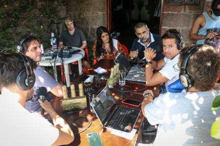 """""""La Mesa de los Galanes"""" se transmitió en vivo desde el Fortín de San Miguel, promocionando los atractivos de Chuy y alrededores"""