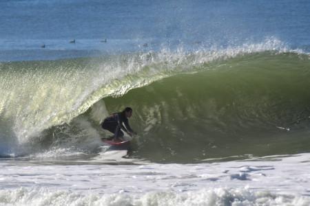 Las playas de Rocha elegidas todo el año para la práctica de surf