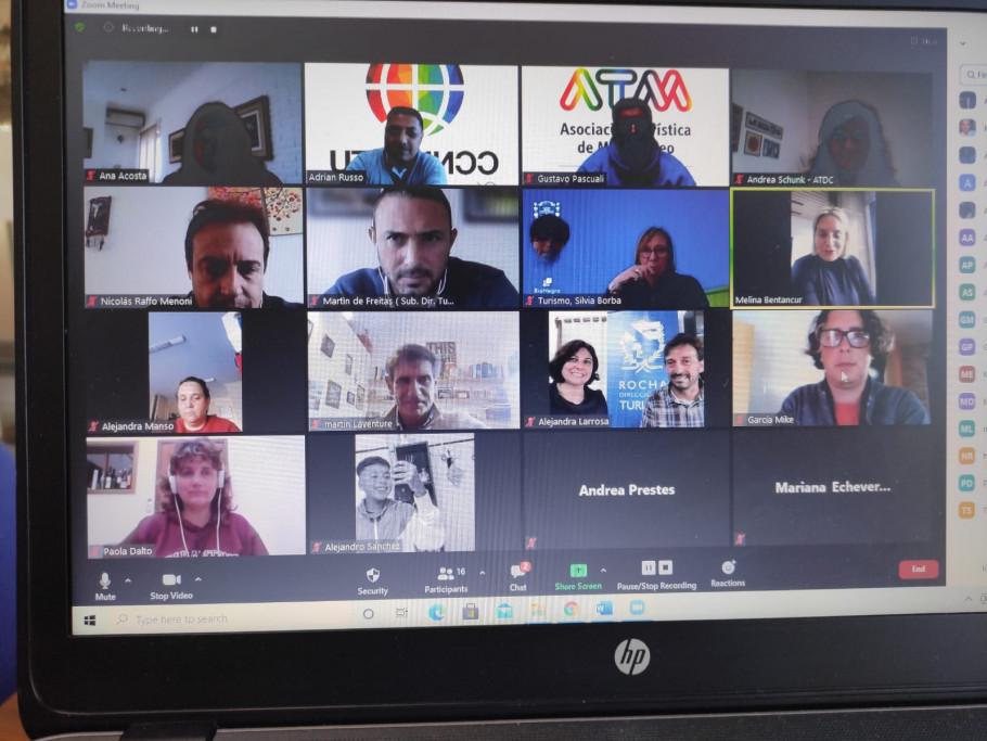 Reunión de Comisión Nacional de Turismo LGBT