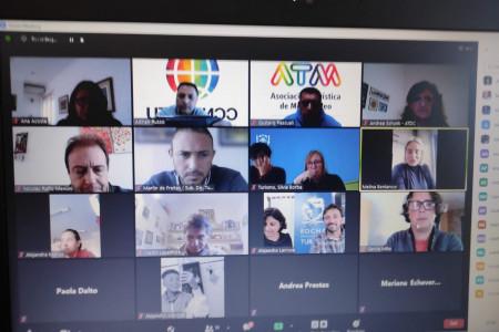 OGD Rocha participó en la 1ra reunión del año de laComisión Nacional de Turismo LGBT