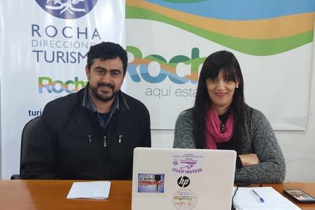 Equipo de la Dirección de Turismo realizó capacitaciones a pasantes que trabajaran en el pabellón de Uruguay Natural en Expo Prado
