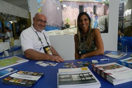 Rocha participó en el 22º Salón Paranaense de Turismo
