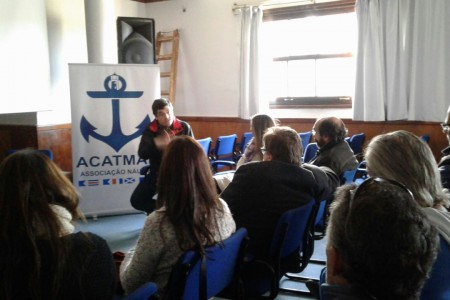 Recibimos a delegación del sector náutico de Santa Catarina, Brasil